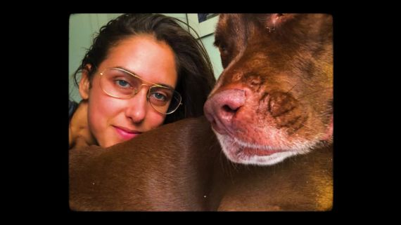 Healthyish Editor Amanda Shapiro and her Furry Friend