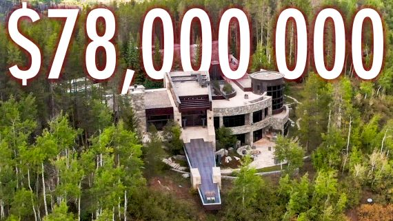 Inside A $78M Mountain Retreat With A Private Climbing Wall