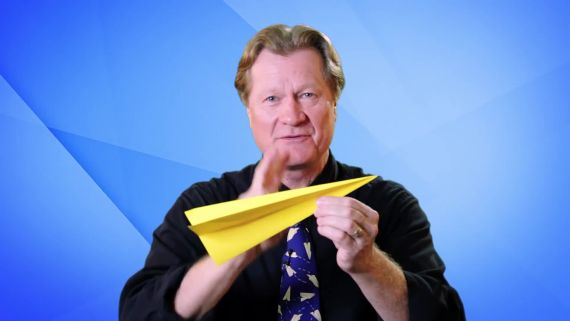 How Paper Airplanes Fly