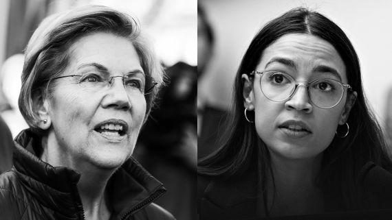 Alexandria Ocasio-Cortez and Elizabeth Warren on Trump, the Supreme Court, and the Election