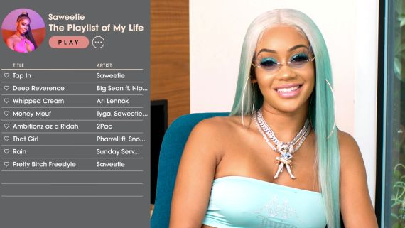Saweetie Creates the Playlist of Her Life