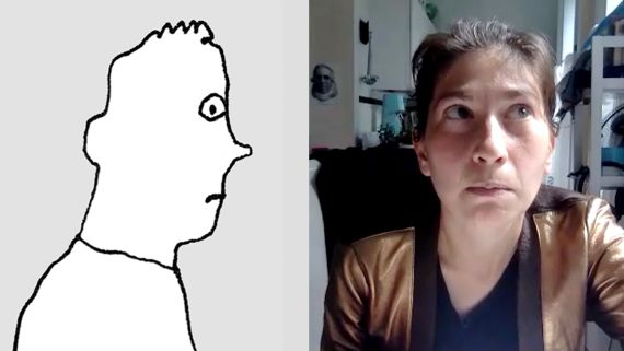 Liana Finck Demonstrates How to Draw Feelings