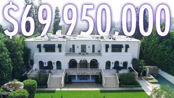 Inside a $69.95M Los Angeles Estate With A Private Beauty Salon