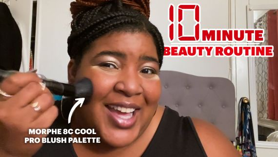 Dulcé Sloan's Stunning 10 Minute Beauty Routine