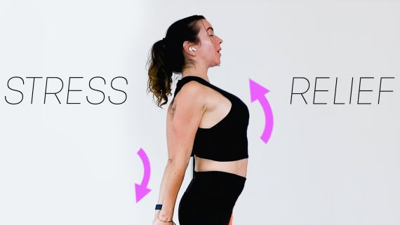 4 Quick Stretching Exercises For Shoulder Relief At Home | SELF