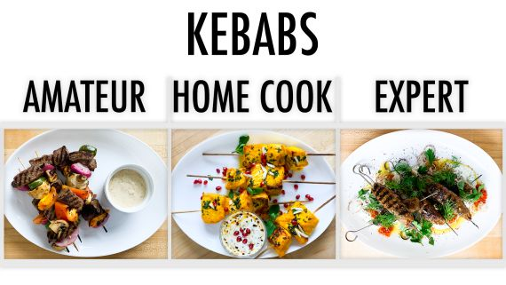 4 Levels of Kebabs: Amateur to Food Scientist