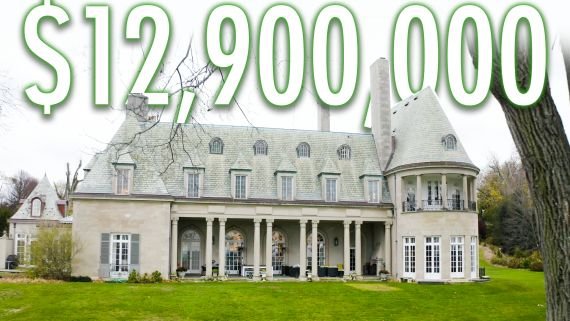 """Inside A Gigantic $12.9M Waterfront Mansion That Inspired """"The Great Gatsby"""""""