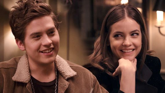 Dylan Sprouse & Barbara Palvin's Dinner Date