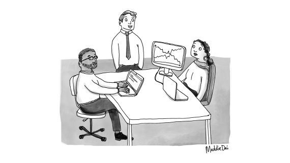 Turning Bosses and Co-workers Into Cartoons