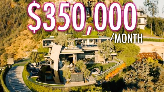 Inside A $350K Per Month Mountainside Resort Mansion