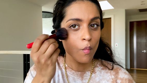 Lilly Singh's 10 Minute UV-Protected Beauty Routine