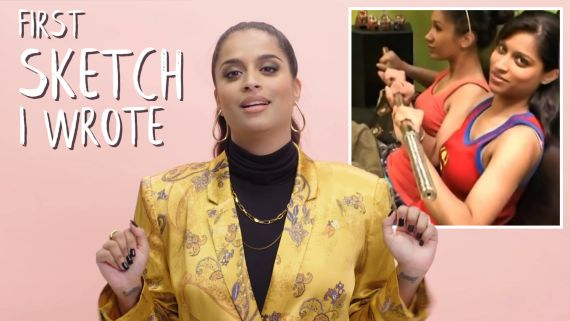 Lilly Singh Shares Her First YouTube Collab, Sketch She Wrote & More