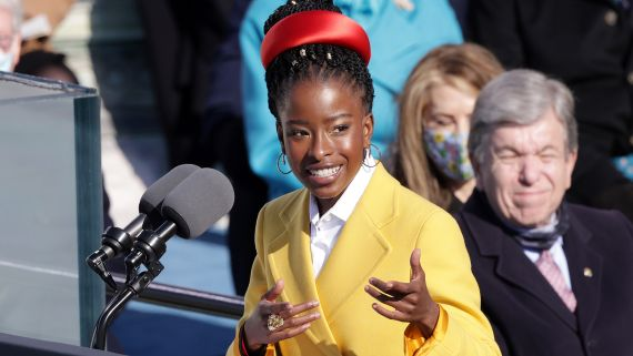 The Twenty-Two-Year-Old Poet Who Lit Up the Stage at the Biden Inauguration