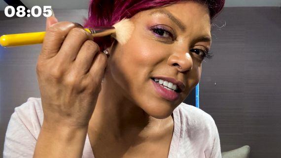 Taraji P. Henson's Joy-Boosting 10 Minute Beauty Routine