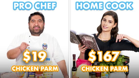 $167 vs $19 Chicken Parm: Pro Chef & Home Cook Swap Ingredients
