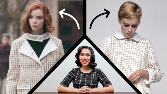 Fashion Historian Fact Checks The Queen's Gambit's Wardrobe