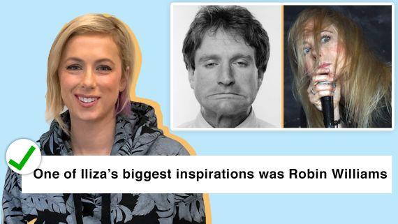 Iliza Shlesinger Fact Checks Fans on The Internet