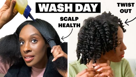 My 7-Step Wash Day Routine For Natural Hair and a Healthy Scalp