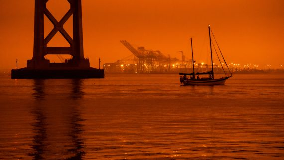 When the Sky Turned Orange