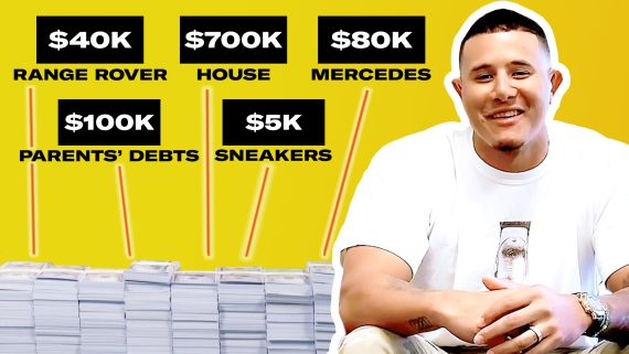 How Manny Machado Spent His First $1M in MLB