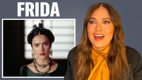 Salma Hayek Breaks Down Her Most Iconic Characters