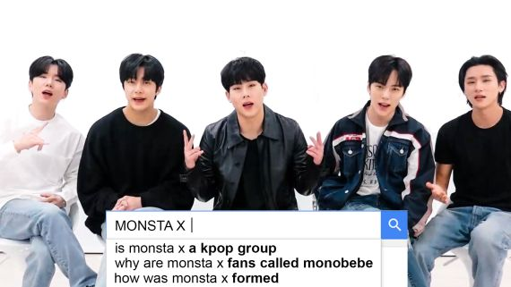 MONSTA X Answer the Web's Most Searched Questions