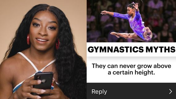 Simone Biles Debunks Every Gymnastics Myth