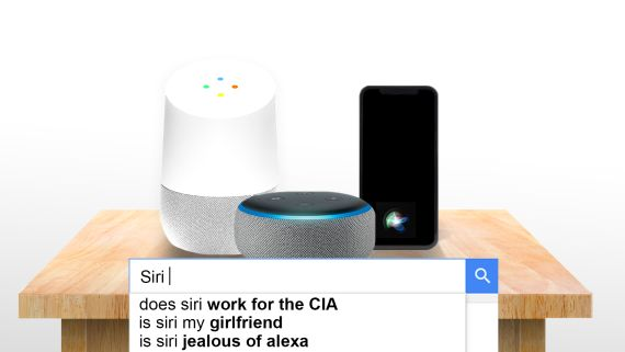 Siri, Alexa and Google Home Answer the Web's Most Searched Questions