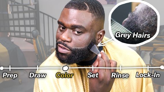 How to Dye Your Beard (5 Steps to Remove Grey Hair)