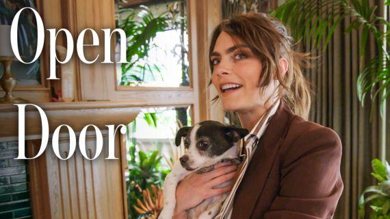 Inside Cara Delevingne's Fantastical L.A. Home
