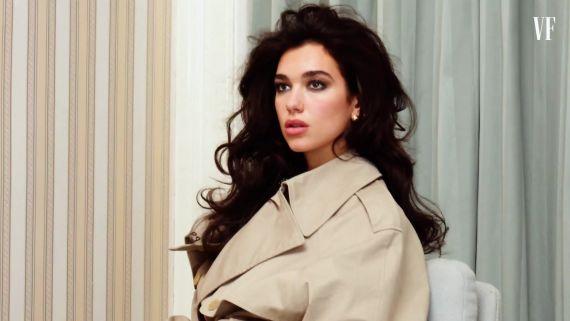Behind the Scenes of Dua Lipa's Vanity Fair Cover Portfolio