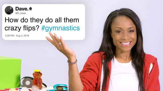 Olympian Dominique Dawes Answers Gymnastics Questions From Twitter