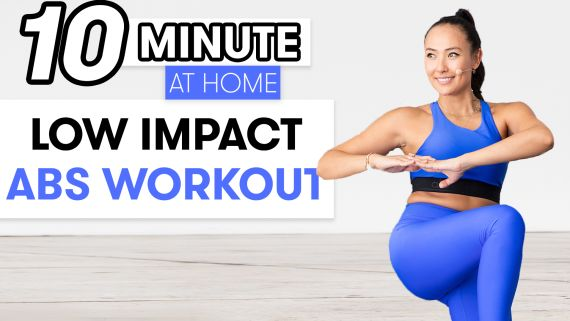 10-Minute Low Impact Abs Workout