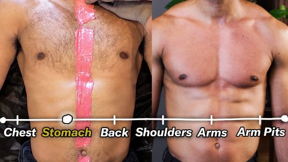 How to Remove Body Hair (Full Body Tutorial)
