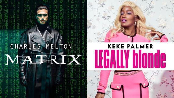 Addison Rae, Keke Palmer & Charles Melton Reenact Iconic Early 2000s Movies