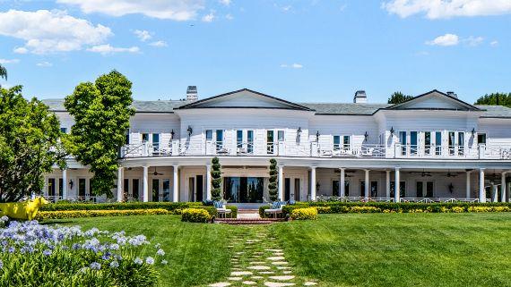 Inside An $85M Estate With A Two-Story Swarovski Chandelier
