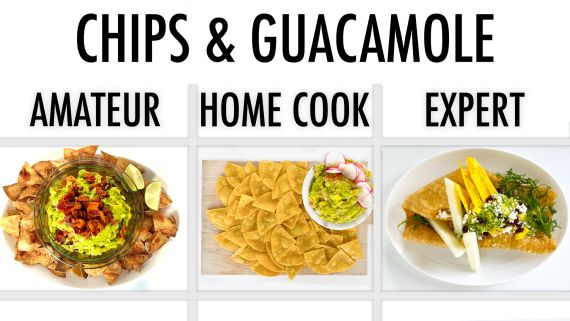4 Levels of Chips & Guacamole: Amateur to Food Scientist