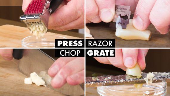 16 Ways To Peel & Cut Garlic Like A Culinary Instructor