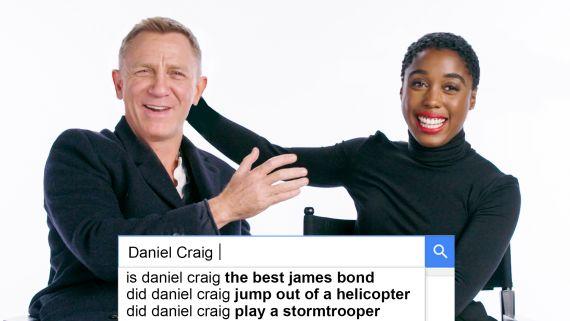 Daniel Craig & Lashana Lynch Answer the Web's Most Searched Questions