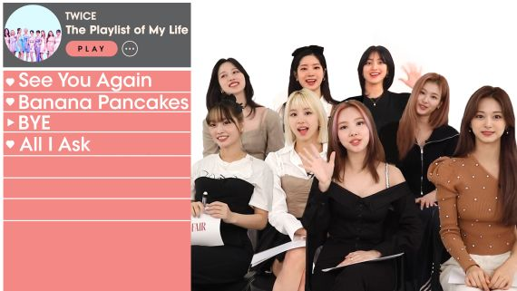 TWICE Creates the Playlist of Their Lives