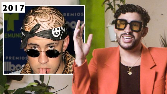 Bad Bunny Explains His Iconic Hairstyle Evolution