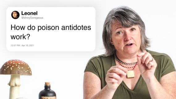 Toxicologist Answers Poison Questions From Twitter