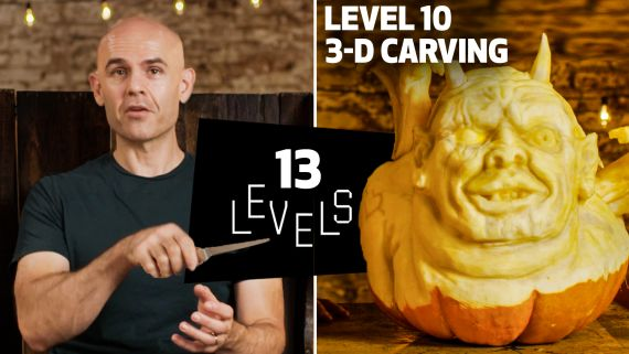 13 Levels of Pumpkin Carving: Easy to Complex