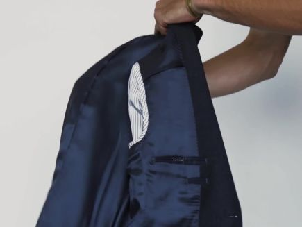 Watch How To Pack A Suit Jacket Without Wrinkling It Gq