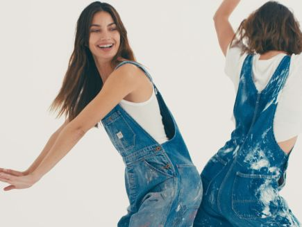 5a4fc8a027182a Watch On Set with Vogue | Should You Be Wearing Overalls? Supermodels  Decide | Vogue Video | CNE | Vogue.com