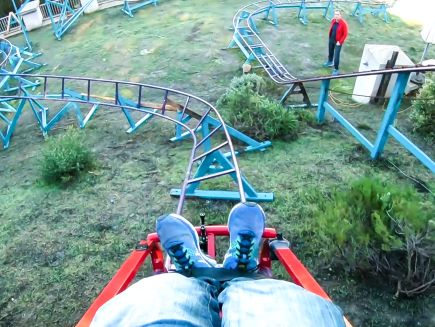 Watch Obsessed | How This Guy Built a Roller Coaster In ...