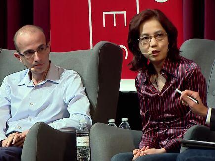 Will AI Enhance or Hack Humanity? - Fei-Fei Li & Yuval Noah Harari in  Conversation with Nicholas Thompson