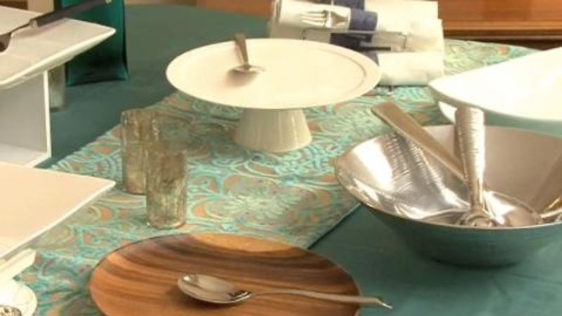 Watch Expert Entertaining Tips Setting The Buffet Table