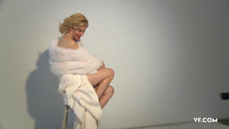 Watch Photo Shoots Elizabeth Banks As A Thoroughly Modern Marilyn Vanity Fair Video Cne