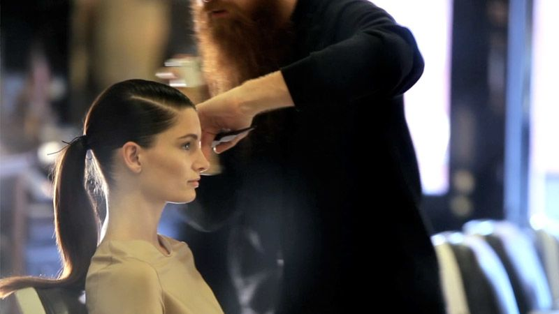 Magnificent Watch The Monday Makeover The Side Parted Ponytail Vogue Video Short Hairstyles Gunalazisus